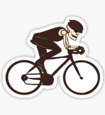 Calavera Cycling Sticker