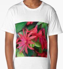 Cactus Flower Long T-Shirt