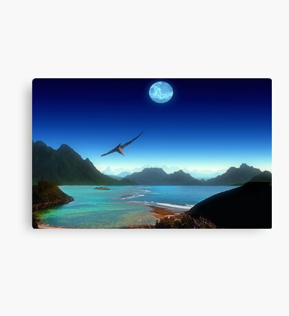 Southern Climes - Collaboration Ashley Ng/alienvisitor Canvas Print