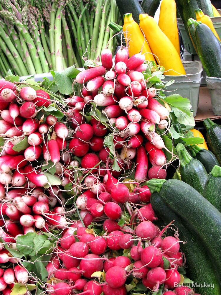 Market Day Veggies by Betty Mackey