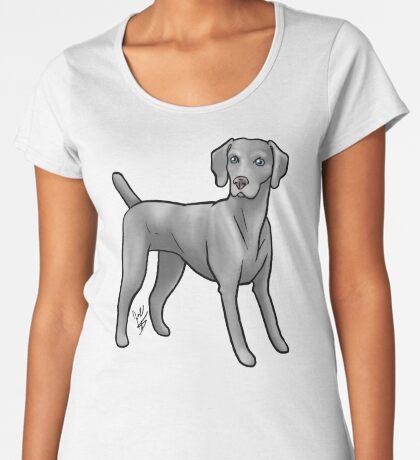 Weimaraner Women's Premium T-Shirt