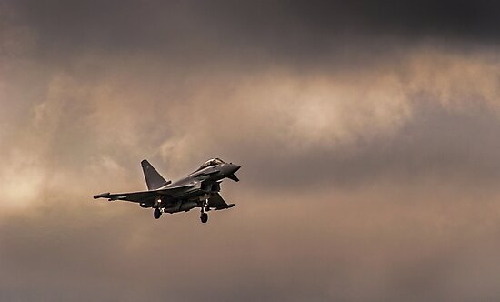 Eurofighter Typhoon by Timeless Prints