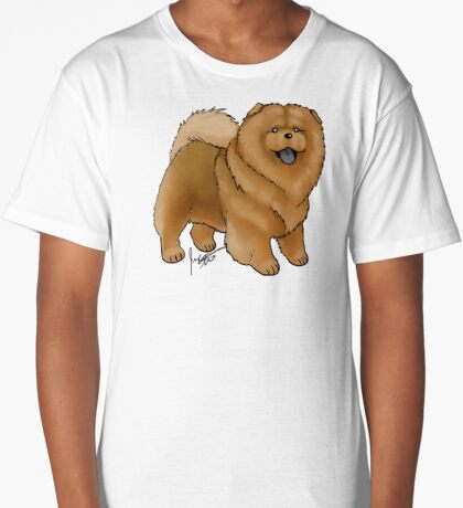 Chow Chow Long T-Shirt