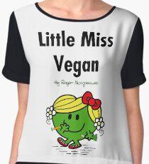 Little Miss Vegan Chiffon Top