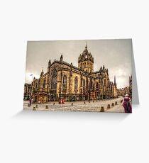 High Kirk of Edinburgh Greeting Card