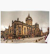 High Kirk of Edinburgh Poster