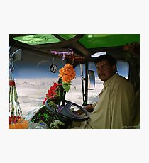 Shaheed Nadir's Pathan Space Truck Breaks Orbit Photographic Print