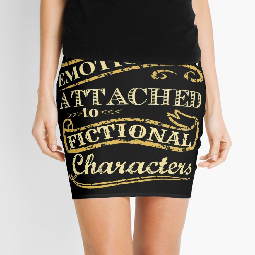 Estoy demasiado apegado emocionalmente a los personajes de ficción Minifalda