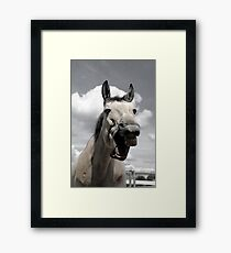 have a laugh, it's the weekend Framed Print