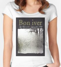 Bon Iver - For Emma Forever Ago Women's Fitted Scoop T-Shirt