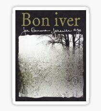 Bon Iver - For Emma Forever Ago Sticker