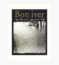 Bon Iver - For Emma Forever Ago Art Print