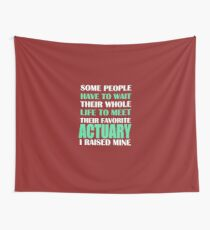 Actuary  Wall Tapestry