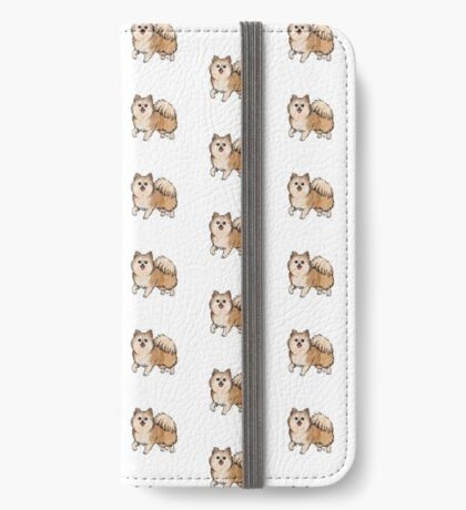 Pomeranian iPhone Wallet