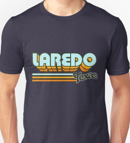 Laredo, TX   City Stripes T-Shirt