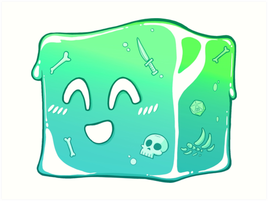 Image result for gelatinous cube
