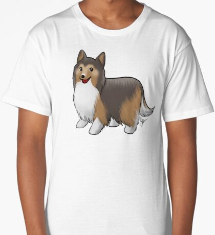 Shetland Sheepdog Long T-Shirt