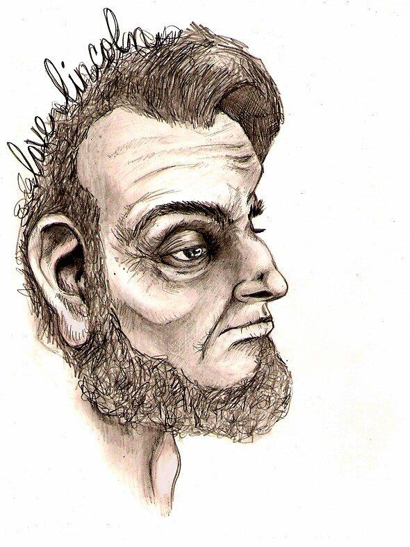 Abraham Lincoln by BoniDutch