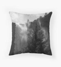 Bridalveil Mist Throw Pillow