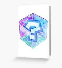 MarioKart Item Box Greeting Card
