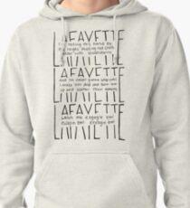 LAFAYETTE - Guns & Ships Lyrics Pullover Hoodie
