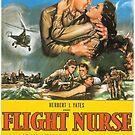 Flight Nurse - Classic American Movies by Remo Kurka