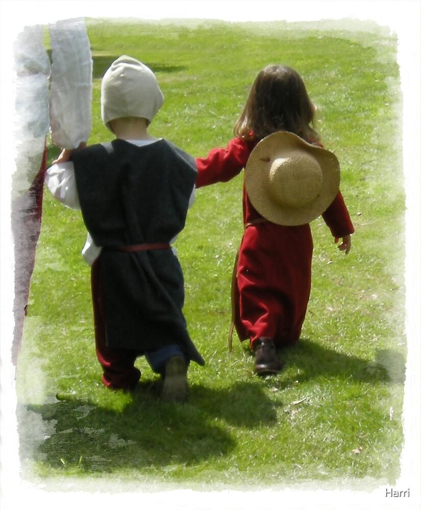 Medieval Children by Harri