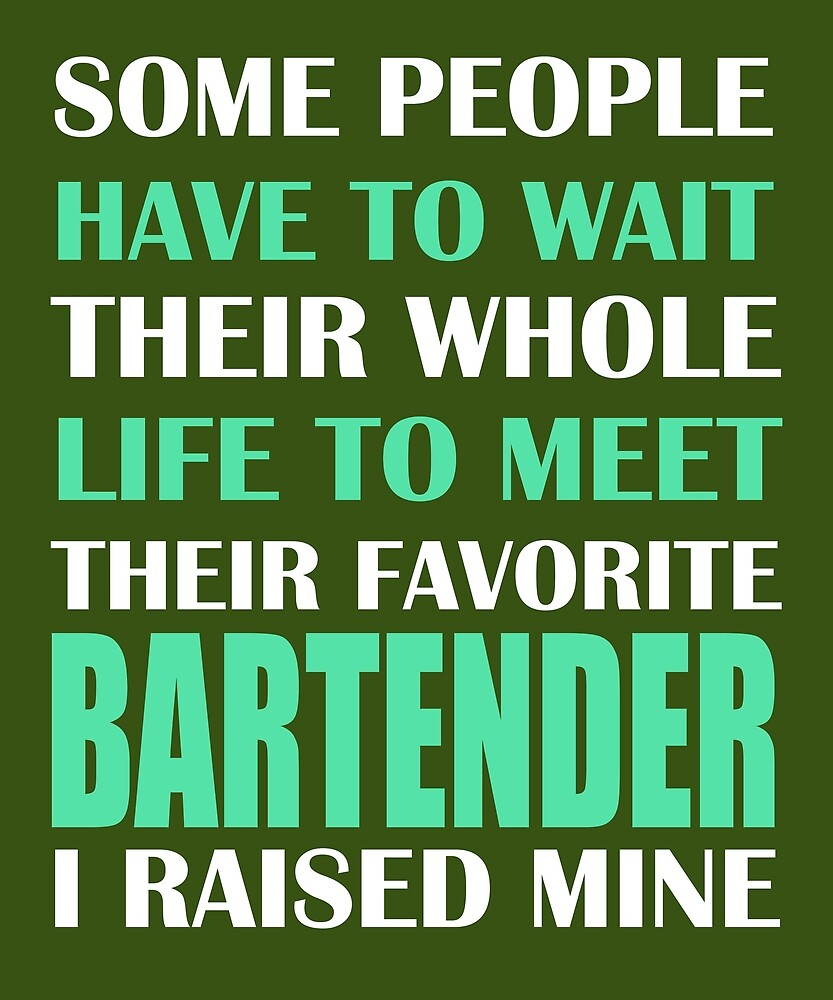 Bartender  by AlwaysAwesome