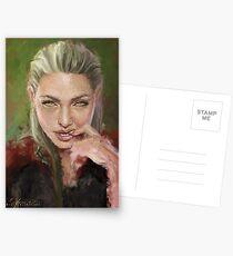 Manon's Portrait. Postcards