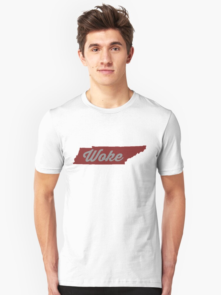 Woke Tennessee - red Unisex T-Shirt Front