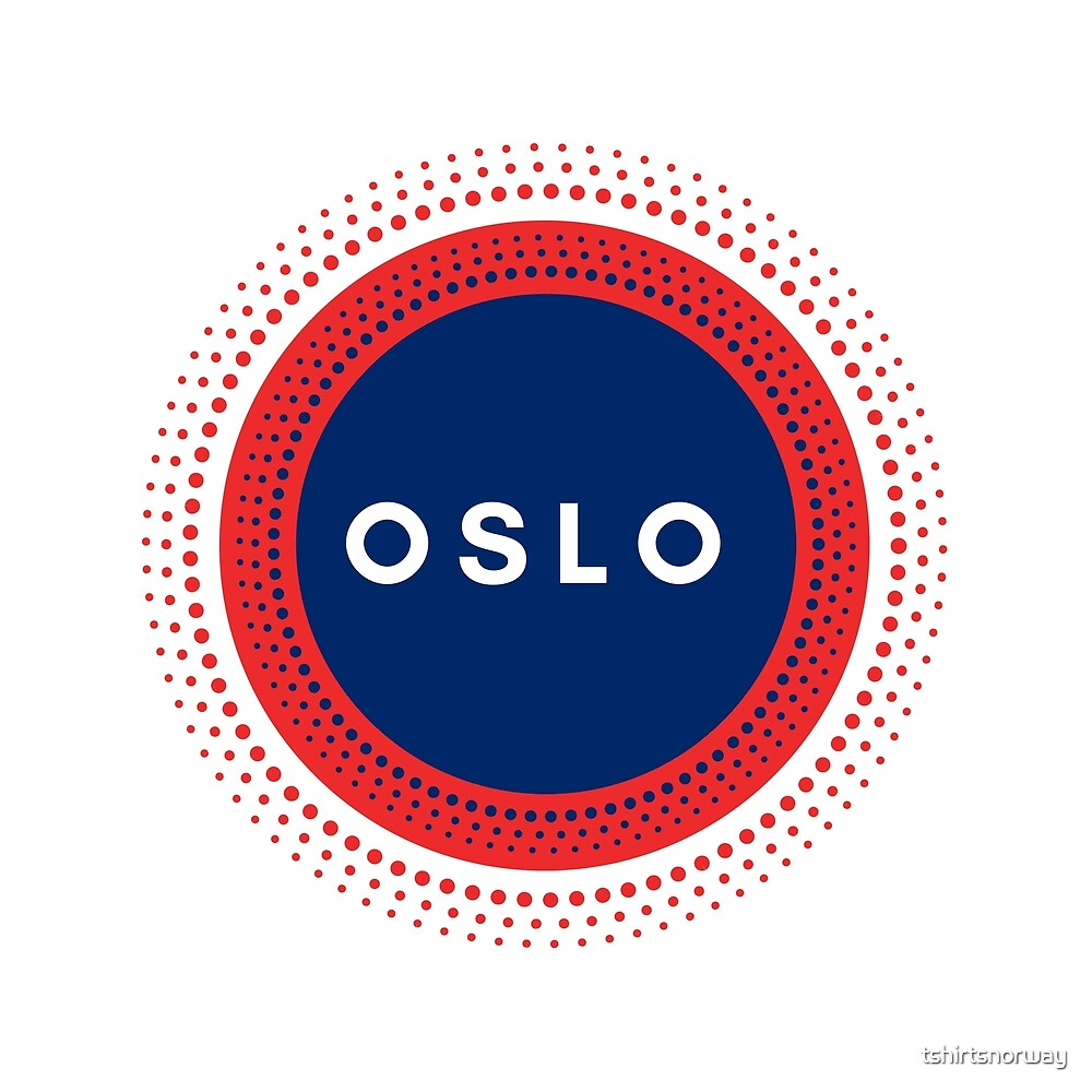 Oslo Norway by tshirtsnorway