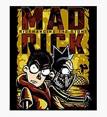 Mad Rick Photographic Print