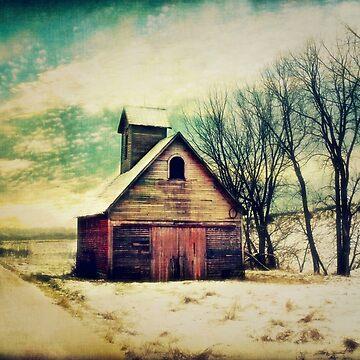 Little Sioux Corn Crib by BarnArtandMore