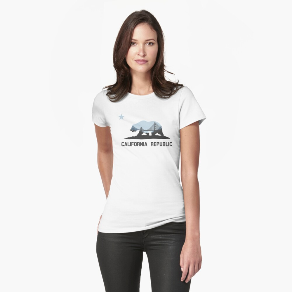 California Womens T-Shirt Front