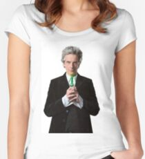 Doctor Who 12th Doctor Women's Fitted Scoop T-Shirt