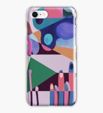 Colorful doodle iPhone Case/Skin