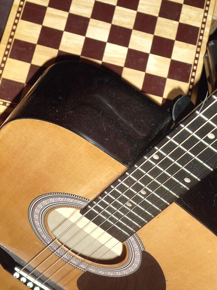 A Little Dust On My Guitar by GLENDAakaEYE
