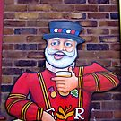 Anchor London Old Pub Sign Board by Remo Kurka