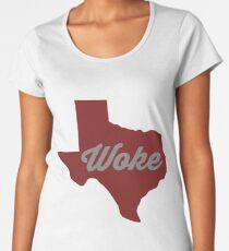 Woke Texas - red Women's Premium T-Shirt