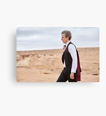 Doctor Who 12th Doctor Canvas Print