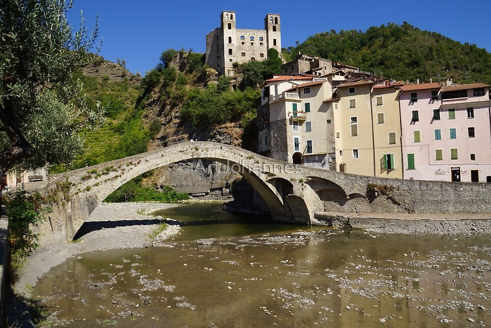 DolceAqua, city in Italy, famous with the bridge by ArtJohannes