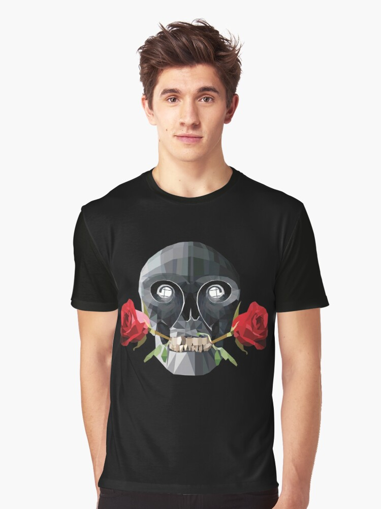 Life & Death | Low poly vector Graphic T-Shirt Front