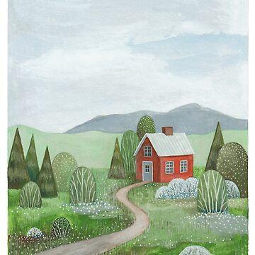 Casa en el valle de Laorel