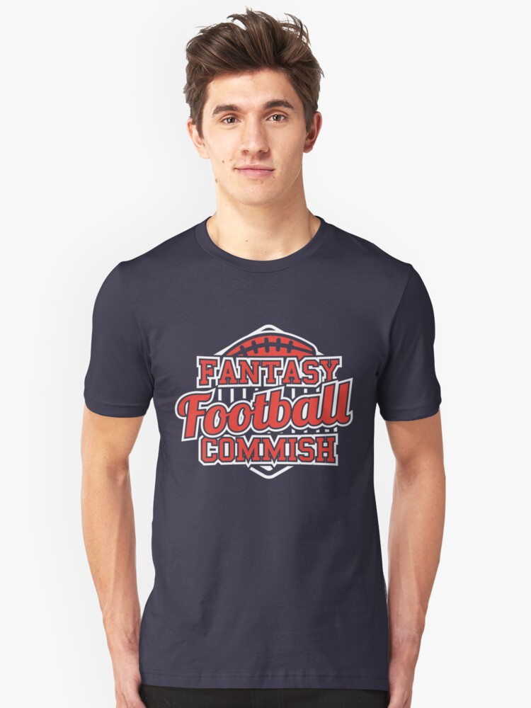 Fantasy Football Commish Draft Party Unisex T-Shirt Front