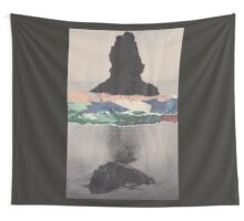 Colored Waves Wall Tapestry