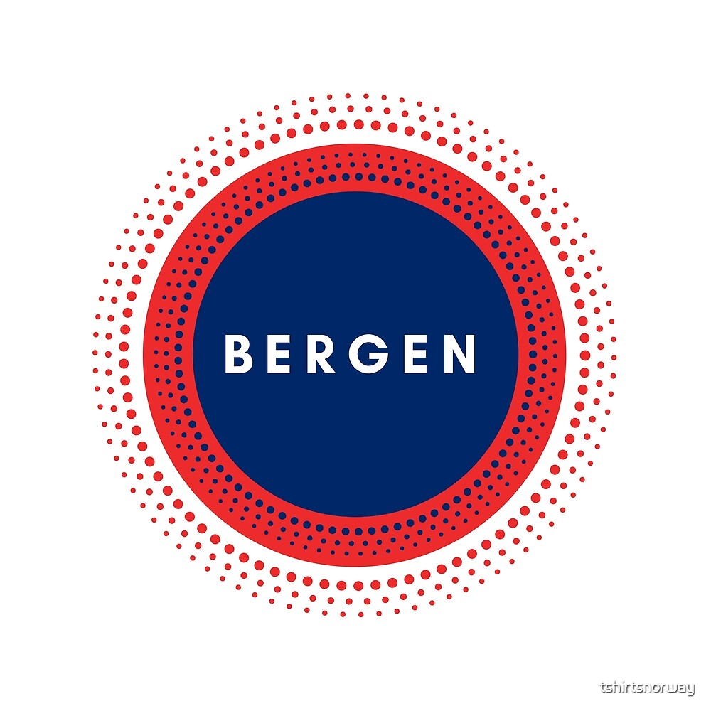Bergen Norway by tshirtsnorway