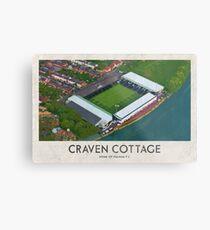 Vintage Football Grounds - Craven Cottage (Fulham FC) Metal Print