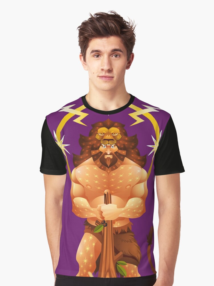 HERAKLES  Graphic T-Shirt Front