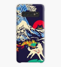 The Great Wave off Oni Island Case/Skin for Samsung Galaxy