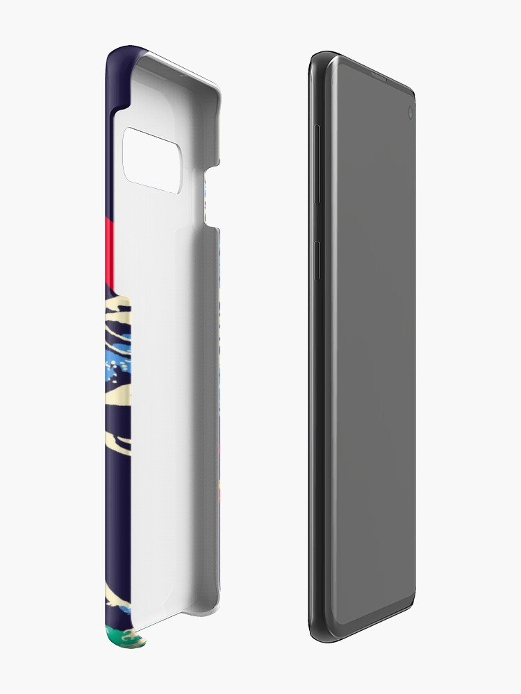 Alternate view of The Great Wave off Oni Island Case & Skin for Samsung Galaxy